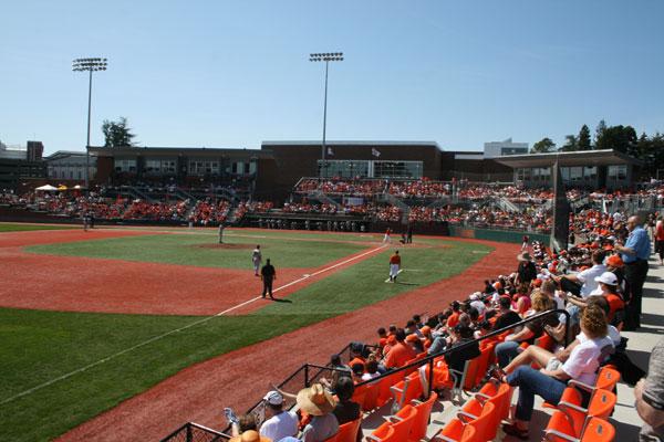 Goss Stadium Corvallis Knights Baseball
