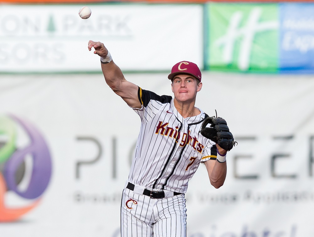 Corvallis Knights Shortstop Chad Stevens Of Portland To Return In 2018