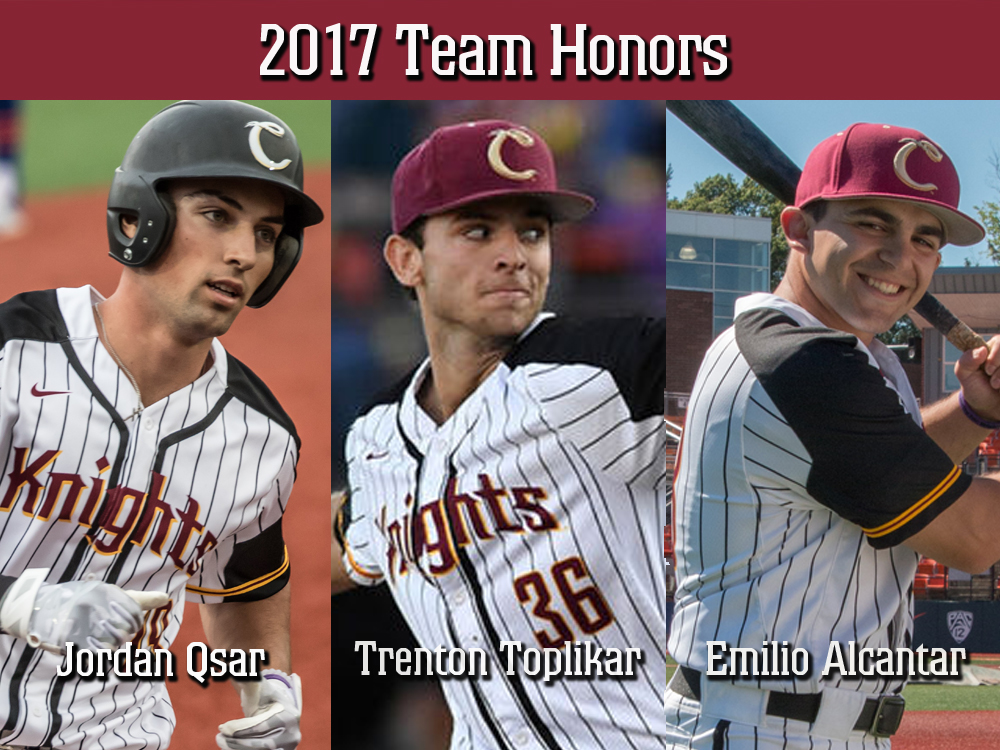Corvallis Knights Announce Team Honors; Qsar Named MVP, Toplikar Top Pitcher