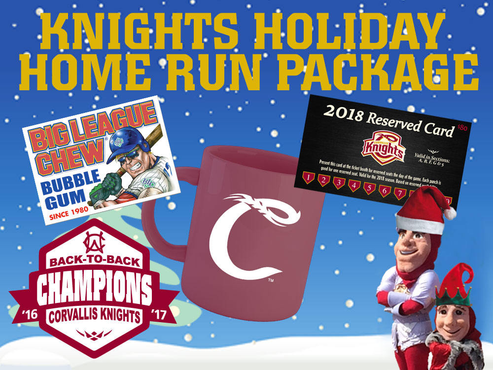 Knights Unveil Special Holiday Home Run Package; On Sale Now!