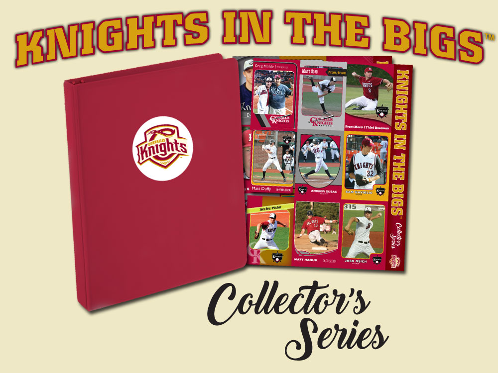 Knights In The Bigs Collector's Series Now On Sale. Give The Gift Of Trading Cards