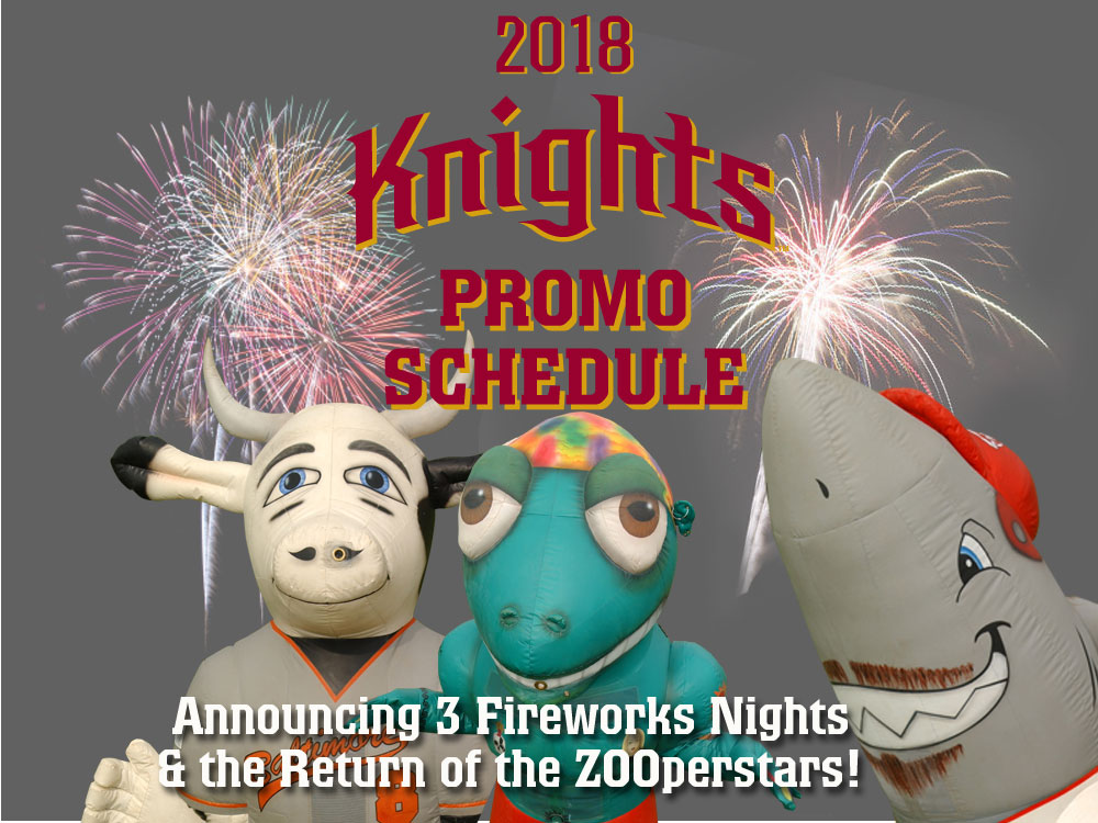 Corvallis Knights Unveil Promotional Nights For Summer 2018