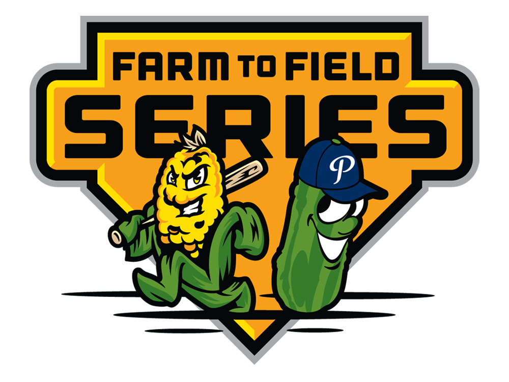 Pickles Bash Knights 17-2 In Farm To Field Series Opener