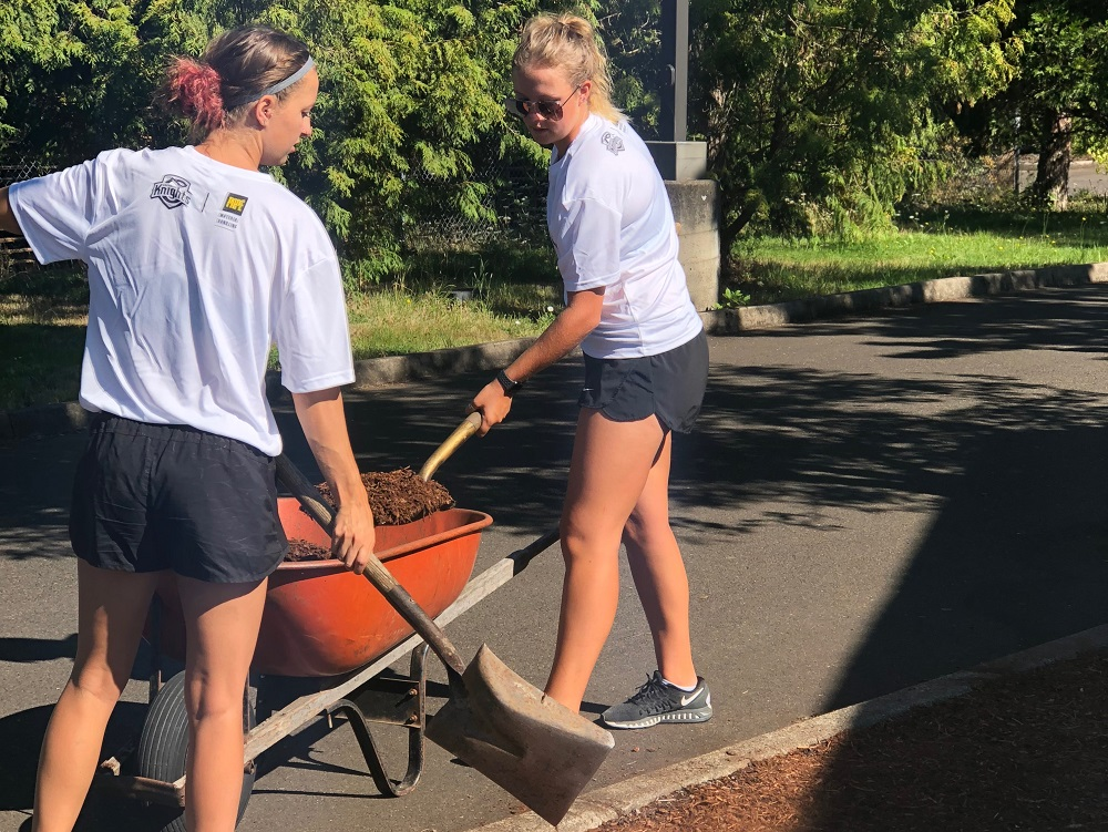 Knights And Papé Add Work Party To One Step Closer To Home Program