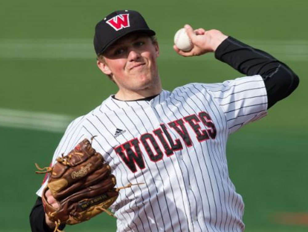 Brooks Hatch Blog: Knights Sign WOU Lefty Kolbe Bales
