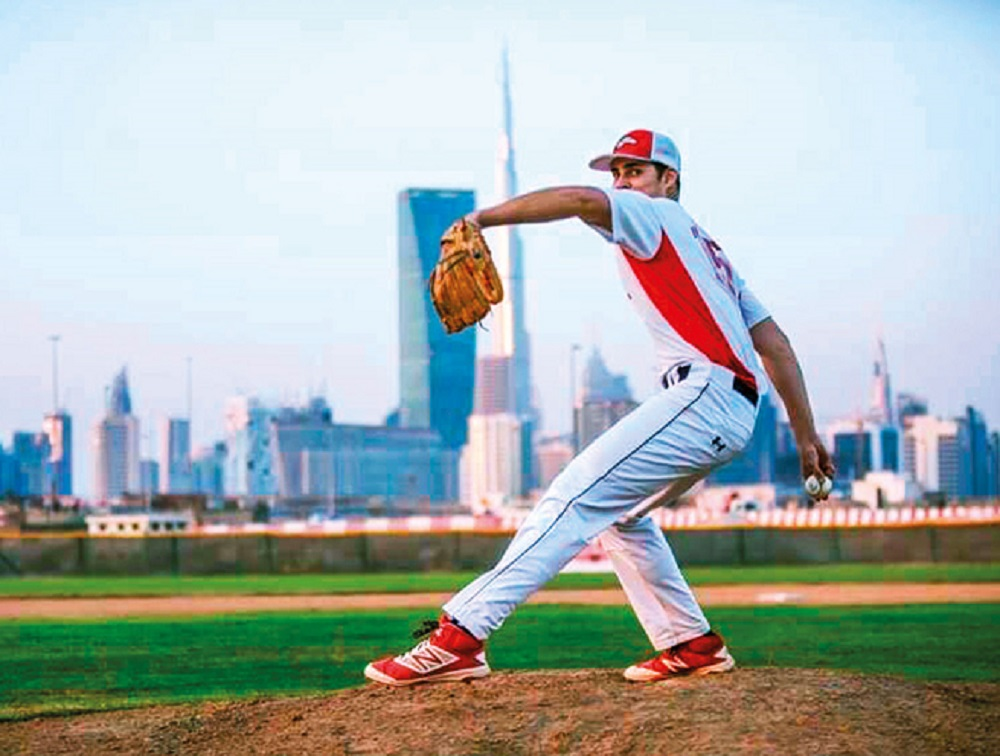 Brooks Hatch Blog: Knights Sign Pitcher From Dubai For 2019
