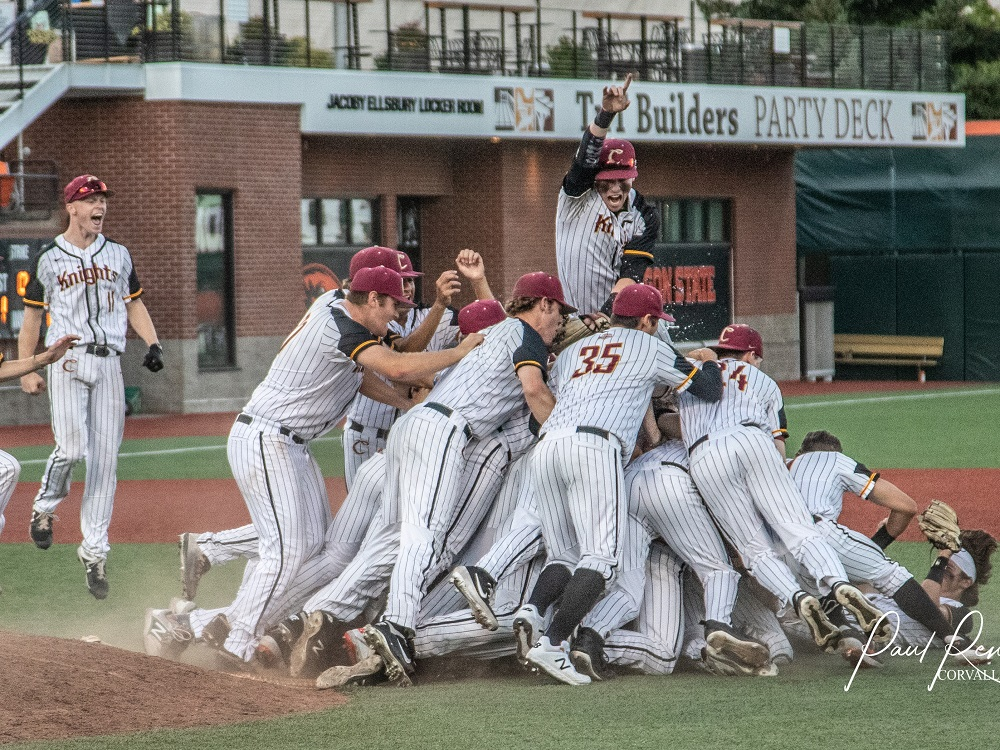 Knights Ride Gerber's Arm, Productive Bats To WCL Crown