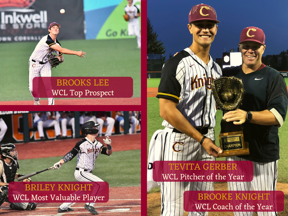 Eight Knights Earn First-Team All-WCL Honors; Briley Knight Named MVP