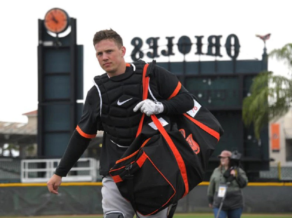 Brooks Hatch Blog: Rutschman Plays First Game At Catcher For O's