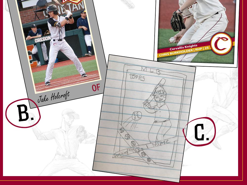 Knights Announce Baseball Card Design Winner